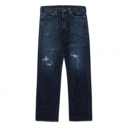 NEO STRAIGHT DENIM PANTS CRASH